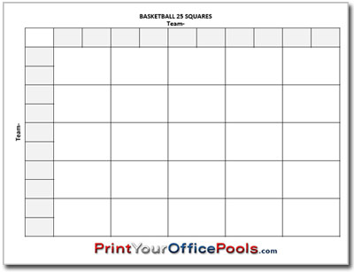 25 Square Football Pool Grid | Search Results | Calendar 2015